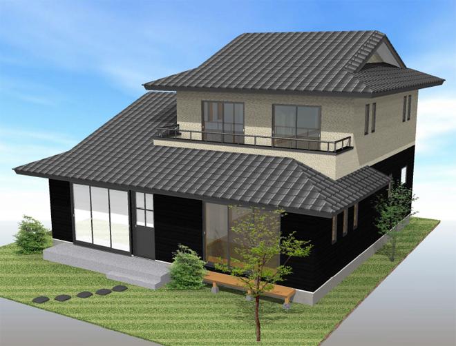 二間続きの和室がある純和風住宅の間取りプラン | 白井市で30坪台の ...